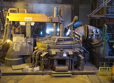 Siemens Modernizes Electric Arc Furnace At Swiss Steel